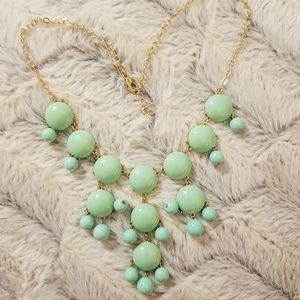 Jewelry - Mint Green Bubble Statement Necklace